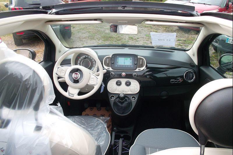 Photo 5 de l'offre de FIAT 500C 1.0 70CH BSG S&S LOUNGE à 15590€ chez François-Pierre automobiles