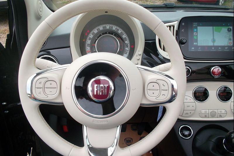 Photo 9 de l'offre de FIAT 500C 1.0 70CH BSG S&S LOUNGE à 15590€ chez François-Pierre automobiles