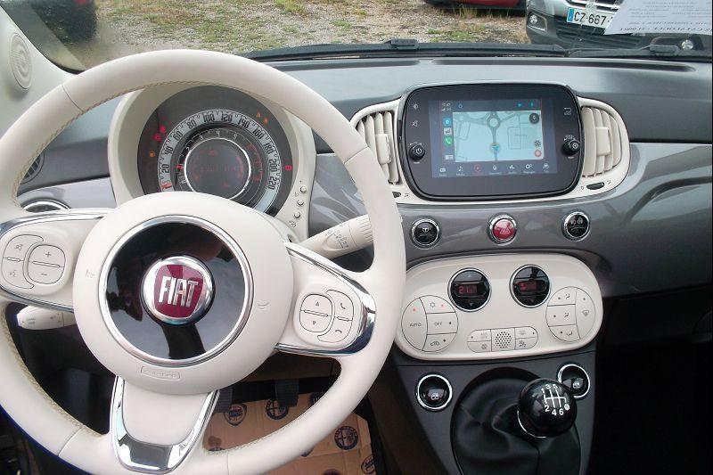Photo 7 de l'offre de FIAT 500C 1.0 70CH BSG S&S LOUNGE à 15590€ chez François-Pierre automobiles