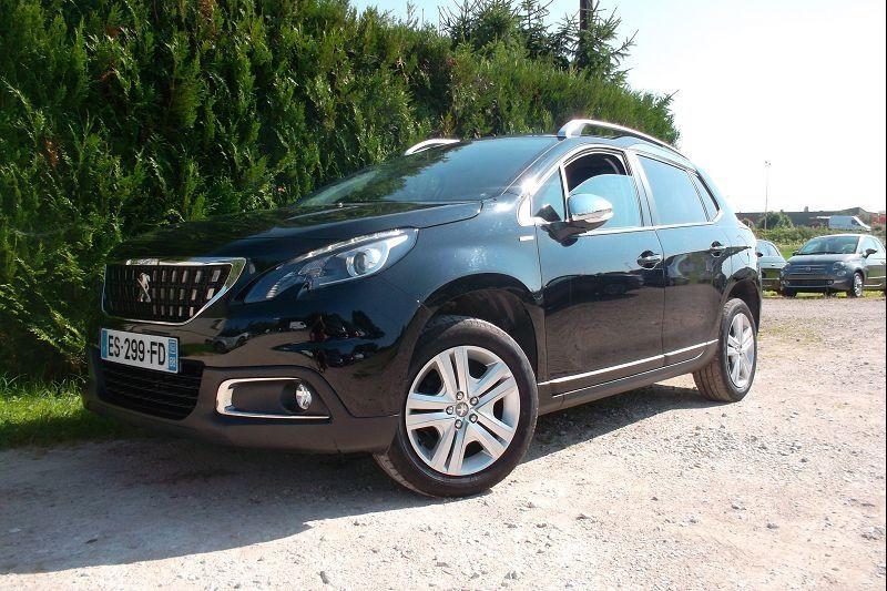 Peugeot 2008 1.6 BLUEHDI 100CH STYLE Diesel NOIR Occasion à vendre