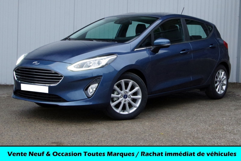 Ford FIESTA 1.0 ECOBOOST 125 CH TITANIUM 5P Essence BLEU AZUR Neuf à vendre