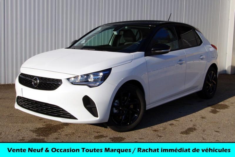 Opel CORSA 1.2 TURBO 100CH EDITION Essence BLANC/ TOIT NOIR Neuf à vendre