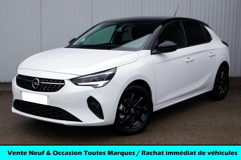 Opel CORSA 1.2 TURBO 100CH ELEGANCE Essence BLANC TOIT NOIR Neuf à vendre