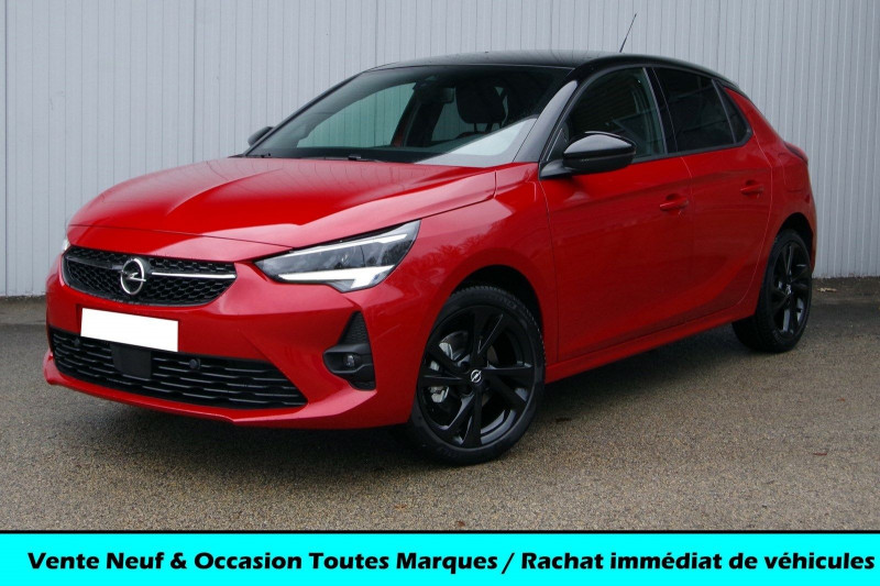 Opel CORSA 1.2 TURBO 100CH GS LINE Essence ROUGE TOIT NOIR Neuf à vendre