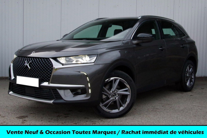 Ds DS 7 CROSSBACK 1.6 PURETECH 225 CH SO CHIC AUTOMATIQUE Essence GRIS PLATINIUM Neuf à vendre