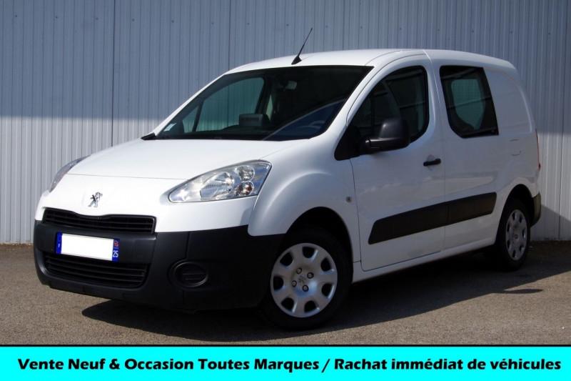 Peugeot PARTNER 120 L1 1.6 HDI 90 PACK CLIM NAV Diesel BLANC Occasion à vendre