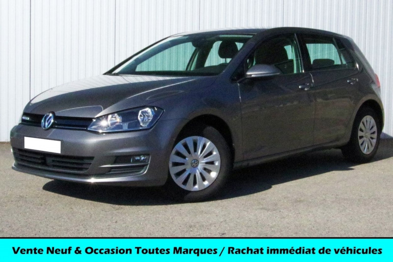 Volkswagen GOLF VII 1.6 CR TDI 110 TRENDLINE Diesel GRIS Occasion à vendre