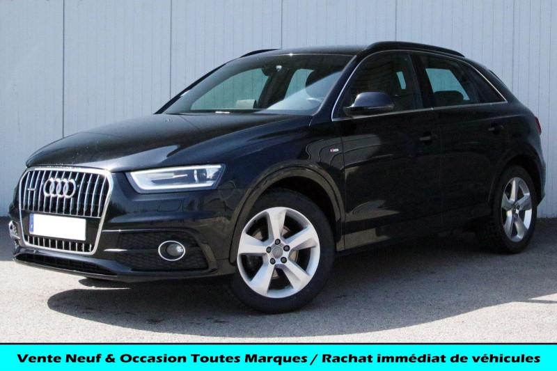Audi Q3 2.0 TDI 177 S LINE QUATTRO S TRONIC 7 Diesel NOIR Occasion à vendre