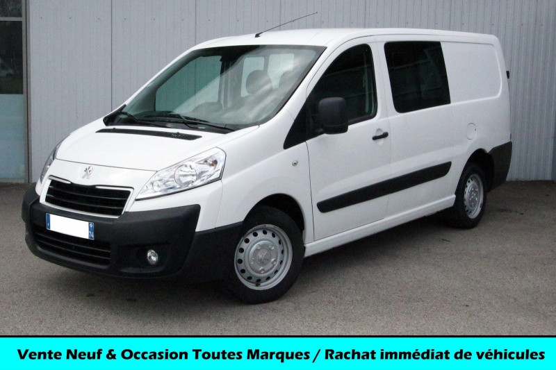 Peugeot EXPERT FG CABINE APPROFONDIE 2.0 HDI 125 Diesel BLANC Occasion à vendre