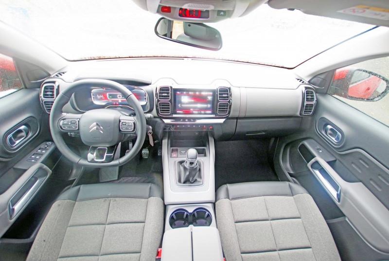 Photo 3 de l'offre de CITROEN C5 AIRCROSS BLUEHDI 130 S&S FEEL à 26500€ chez ACCEL' AUTO