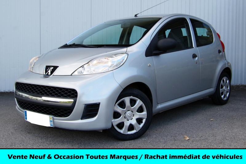Peugeot 107 1.0 12V TRENDY 68 CH 5P Essence GRIS CLAIR MÉTAL Occasion à vendre