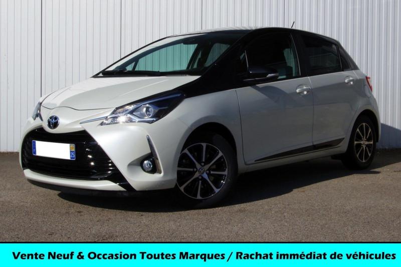 Toyota YARIS 110 VVT-I DESIGN 112 CH 5P Essence BLANC Occasion à vendre