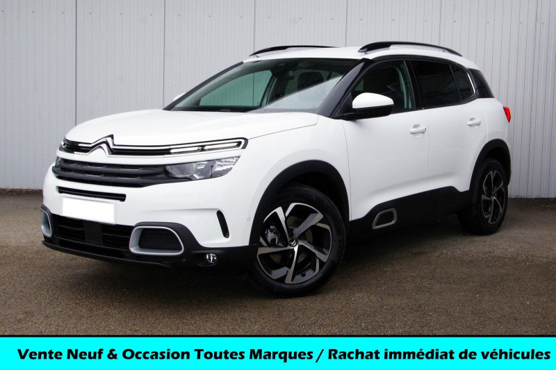 Citroen C5 AIRCROSS BLUEHDI 130CH S&S FEEL PACK EAT8 Diesel BLANC BANQUISE Neuf à vendre