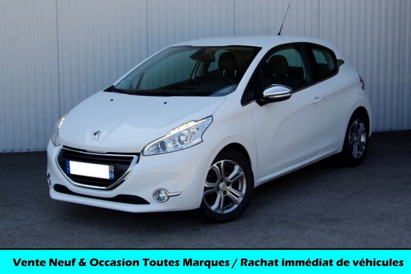 Peugeot 208 1.6 VTI ALLURE 3P Essence BLANC Occasion à vendre