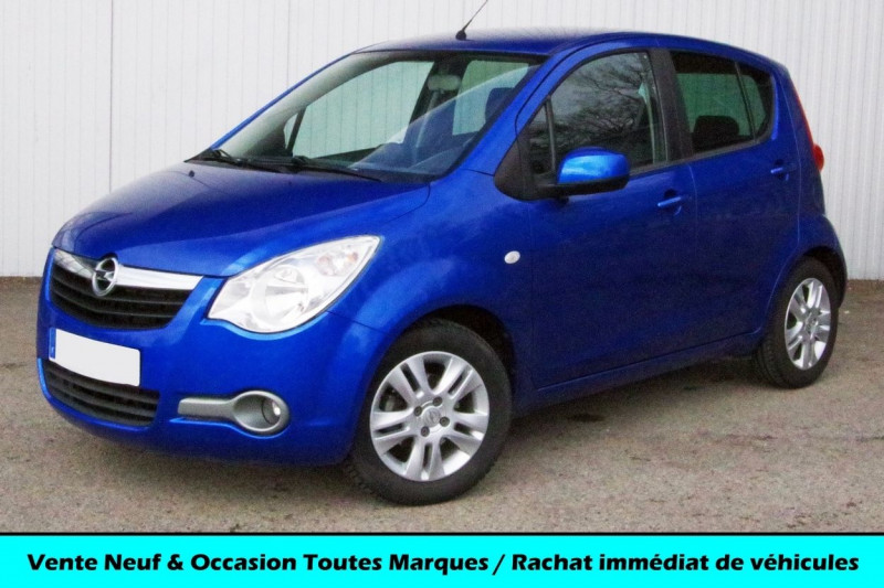 Opel AGILA 1.0 ENJOY 68 CH Essence BLEU Occasion à vendre