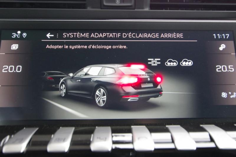 Photo 20 de l'offre de PEUGEOT 508 SW BLUEHDI 160CH S&S GT LINE EAT8 à 33800€ chez ACCEL' AUTO