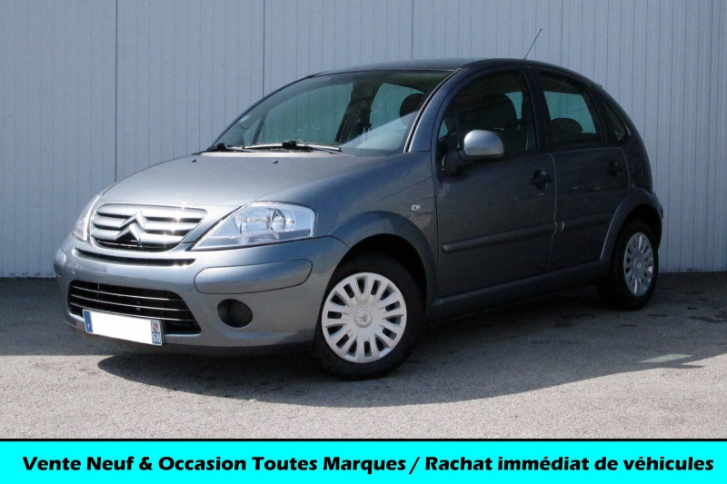 Citroen C3 1.1I ATTRACTION Essence GRIS Occasion à vendre