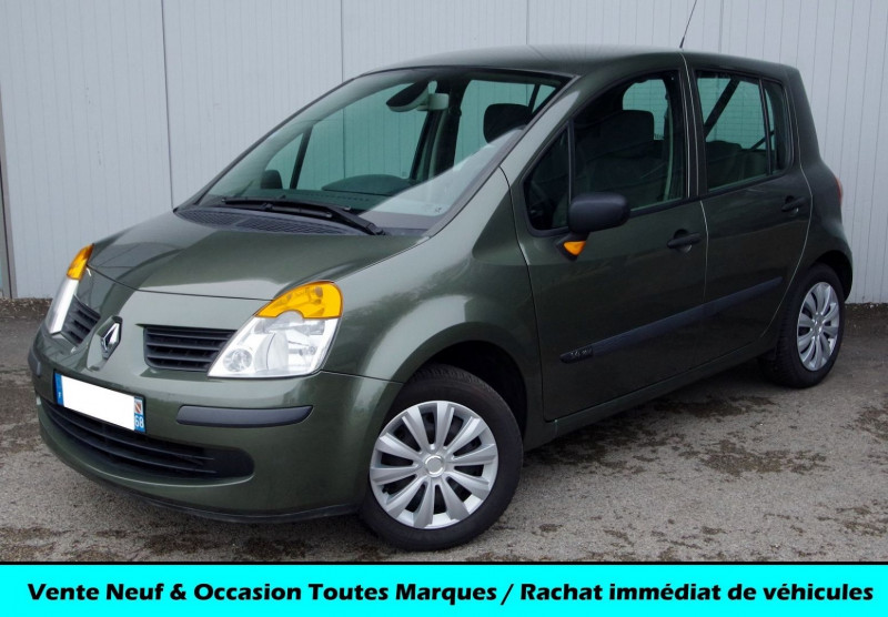 Renault MODUS 1.4 16V 98 CH CONFORT EXPRESSION Essence GRIS Occasion à vendre
