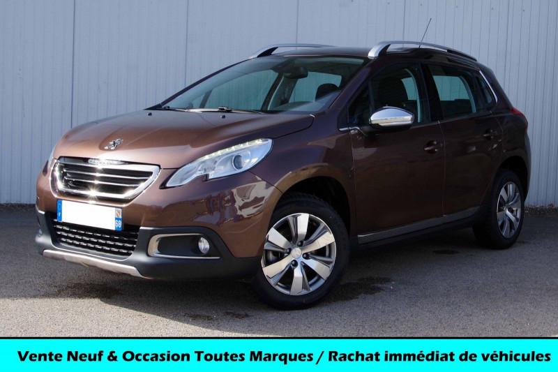 Peugeot 2008 1.6 E-HDI 115 ALLURE Diesel BRUN MAHAKA Occasion à vendre