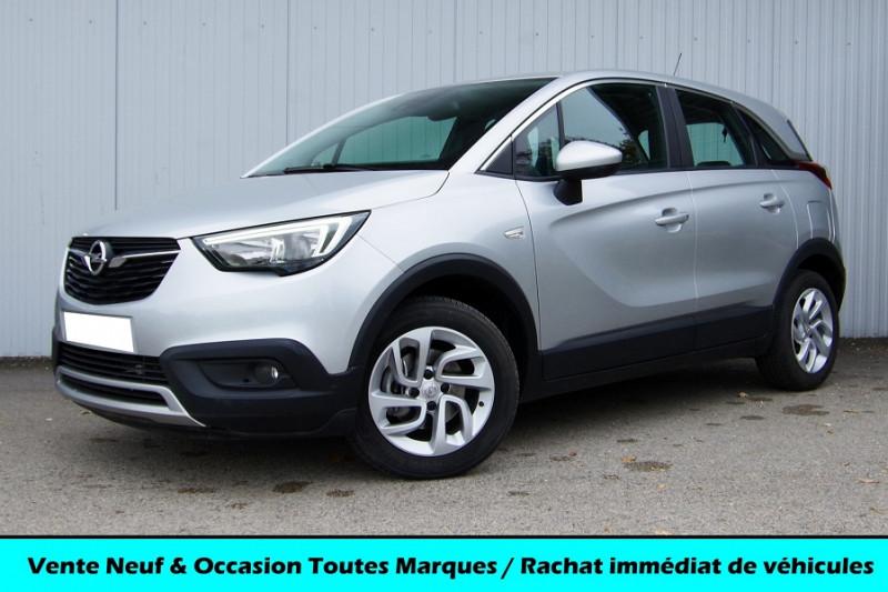 Opel CROSSLAND X 1.5 D 120CH INNOVATION BVA6 Diesel GRIS CLAIR MÉTAL Occasion à vendre