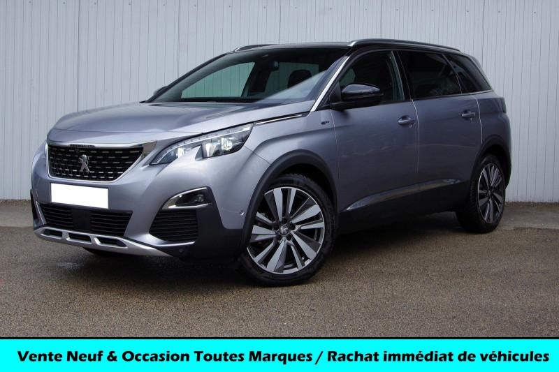 Peugeot 5008 2.0 BLUEHDI 180 S&S GT EAT8 Diesel GRIS ARTENSE Occasion à vendre