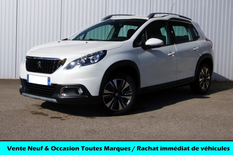 Peugeot 2008 1.2 PURETECH 110CH ALLURE S&S Essence BLANC Occasion à vendre