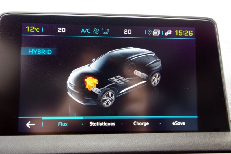 Photo 15 de l'offre de PEUGEOT 3008 HYBRID4 300CH GT E-EAT8 à 38800€ chez ACCEL' AUTO
