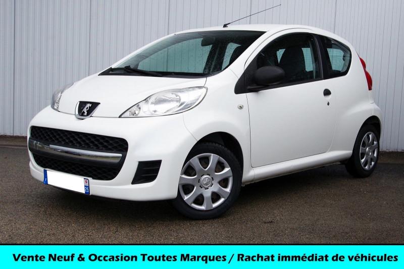 Peugeot 107 1.0 12V 68 CH 3P Essence BLANC Occasion à vendre