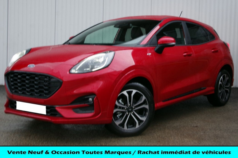 Ford PUMA 1.0 ECOBOOST 125CH ST-LINE DCT7 Essence ROUGE LUCID Neuf à vendre