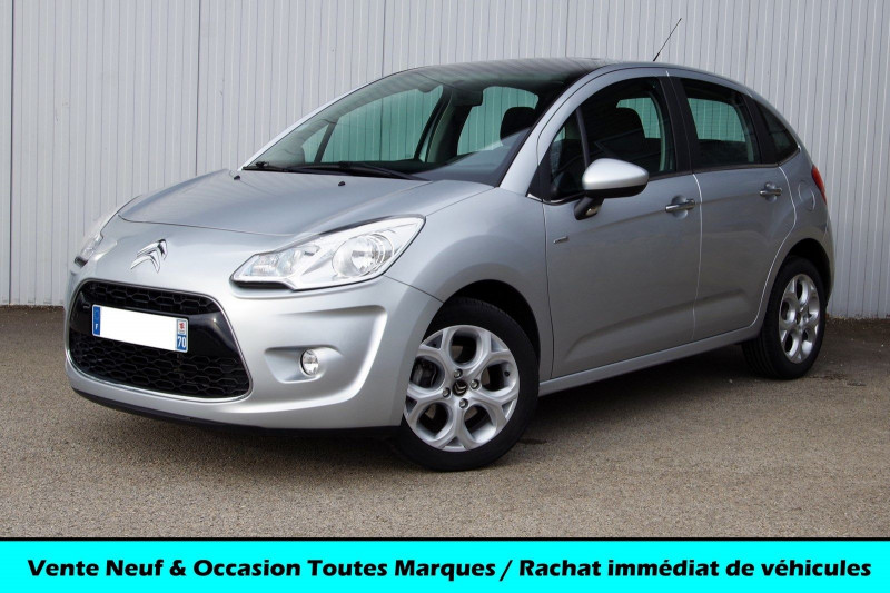 Citroen C3 1.6 VTI 120 CH EXCLUSIVE Essence GRIS Occasion à vendre