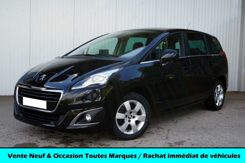 Peugeot 5008 1.6 BLUEHDI 115CH ACTIVE S&S Diesel NOIR PERLA Occasion à vendre