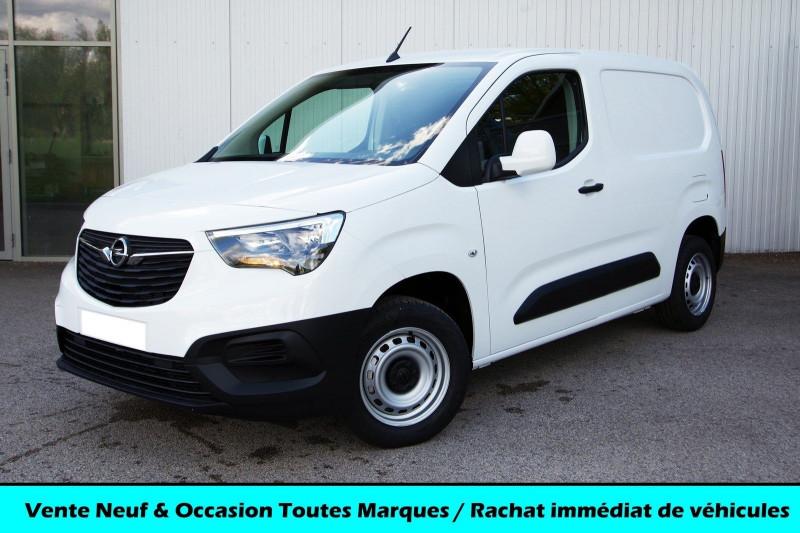 Opel COMBO CARGO L1H1 650KG 1.5 100CH S&S PACK CLIM Diesel BLANC BANQUISE Neuf à vendre