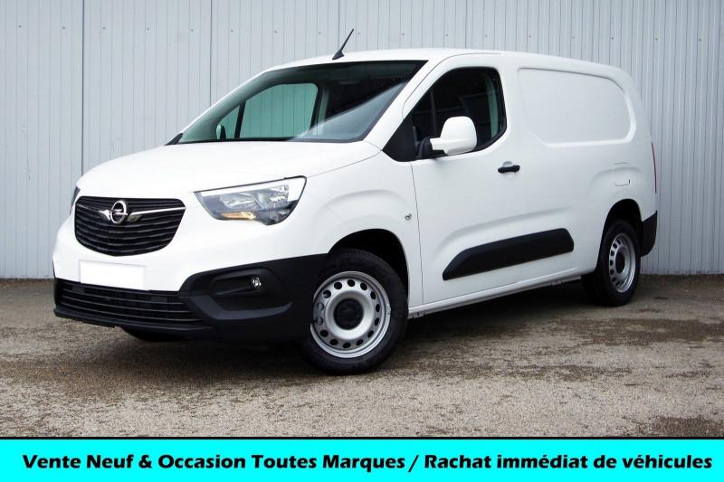 Opel COMBO CARGO L2H1 950KG 1.5 100CH S&S PACK CLIM Diesel BLANC BANQUISE Neuf à vendre