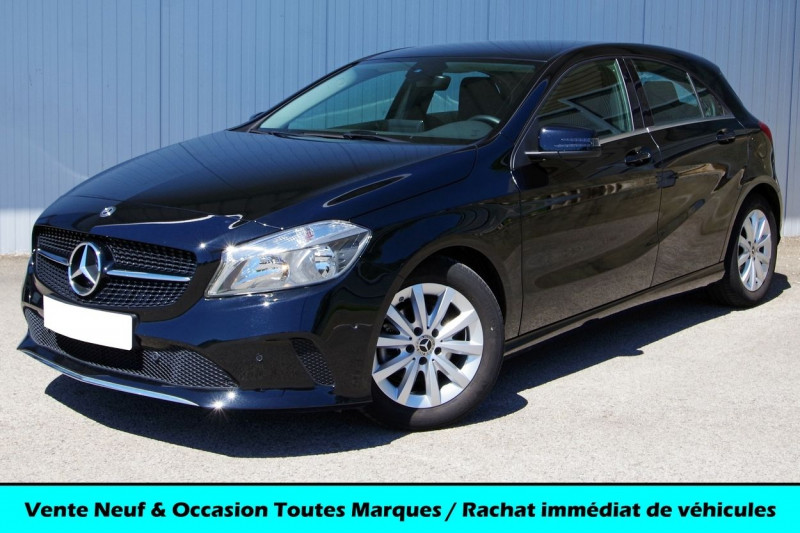Mercedes-Benz CLASSE A (W176) 180 D BLUEEFFICIENCY EDITION Diesel NOIR Occasion à vendre