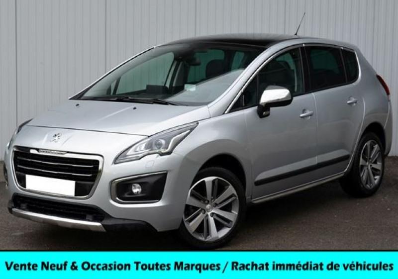Peugeot 3008 1.6 BLUEHDI 120CH FELINE S&S Diesel GRIS ALUMINIUM Occasion à vendre