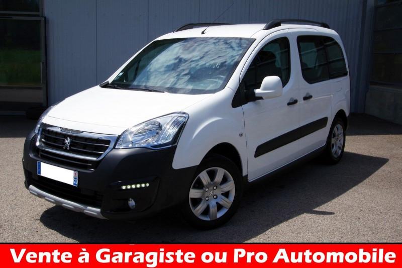 Peugeot PARTNER 1.6 BLUEHDI 100CH OUTDOOR S&S Diesel BLANC Occasion à vendre