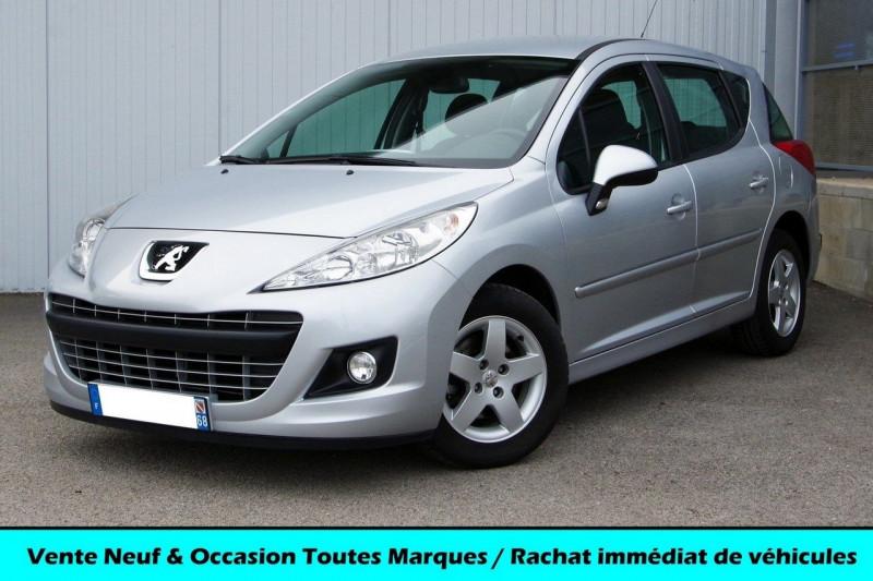 Peugeot 207 SW 1.4 VTI 95 ACTIVE Essence GRIS ALUMINIUM Occasion à vendre