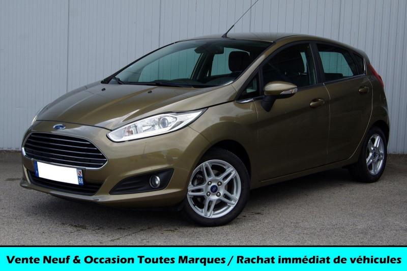 Ford FIESTA 1.0 ECOBOOST 100 CH TITANIUM 5P Essence BRUN Occasion à vendre
