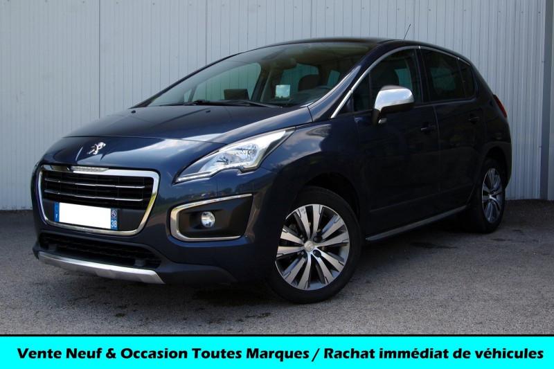 Peugeot 3008 1.6 HDI 115 ALLURE Diesel BLEU BOURRASQUE Occasion à vendre
