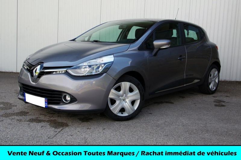 Renault CLIO IV 1.5 DCI 90 ZEN GPS 90G Diesel GRIS CASSIOPE Occasion à vendre