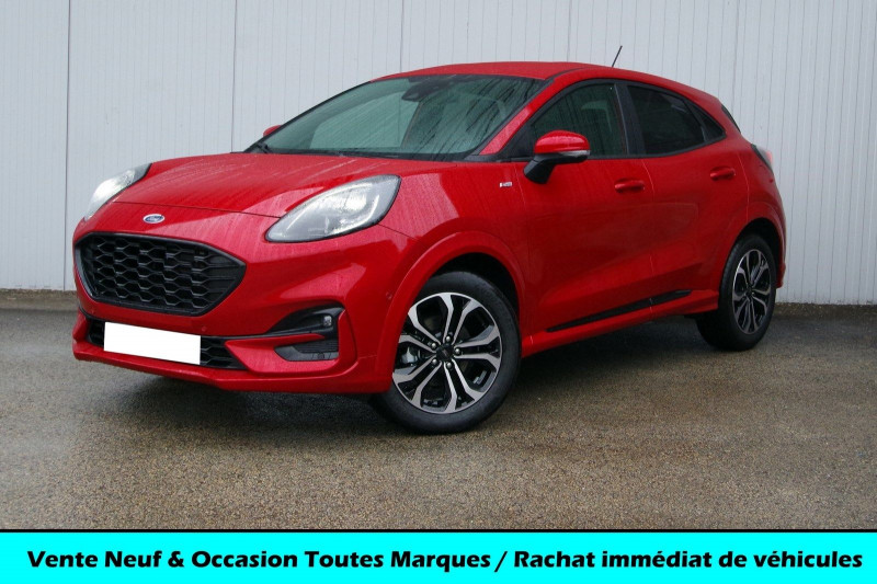 Ford PUMA 1.0 ECOBOOST 125CH MHEV ST-LINE DCT7 Hybride FANTASTIC RED Neuf à vendre