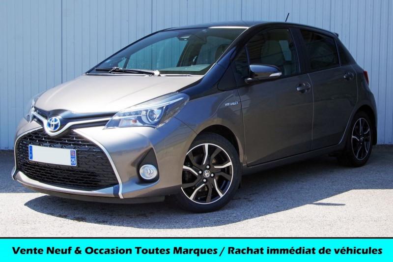 Toyota YARIS HYBRIDE 100H COLLECTION 5P Hybride GRIS Occasion à vendre