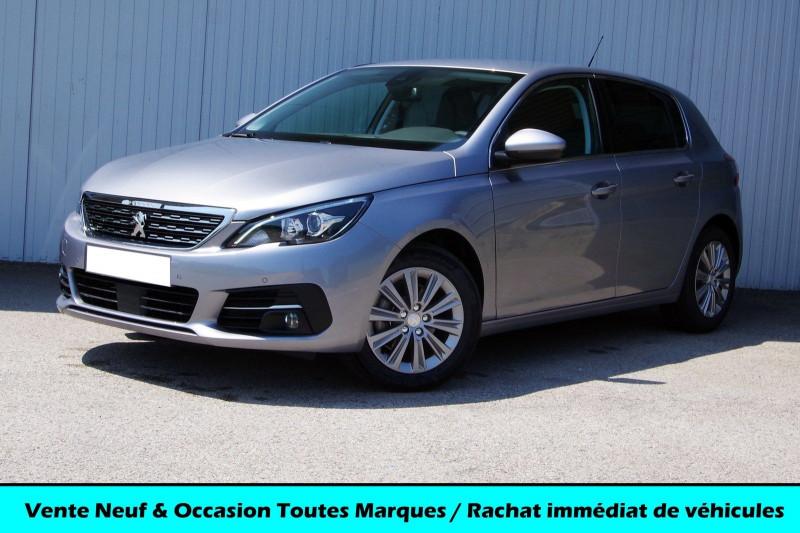 Peugeot 308 1.5 BLUEHDI 130CH S&S ALLURE PACK EAT8 Diesel GRIS ARTENSE Neuf à vendre
