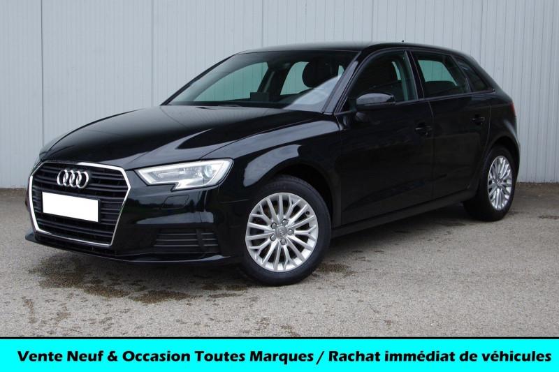 Audi A3 SPORTBACK 1.6 TDI 110CH AMBIENTE Diesel NOIR Occasion à vendre