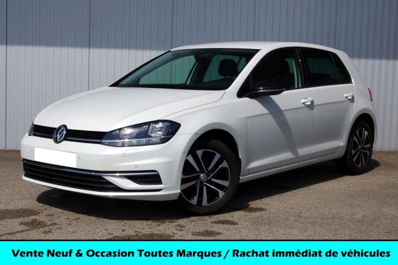 Volkswagen GOLF VII 1.0 TSI 116 CH IQ.DRIVE GPS Essence BLANC NACRE Occasion à vendre
