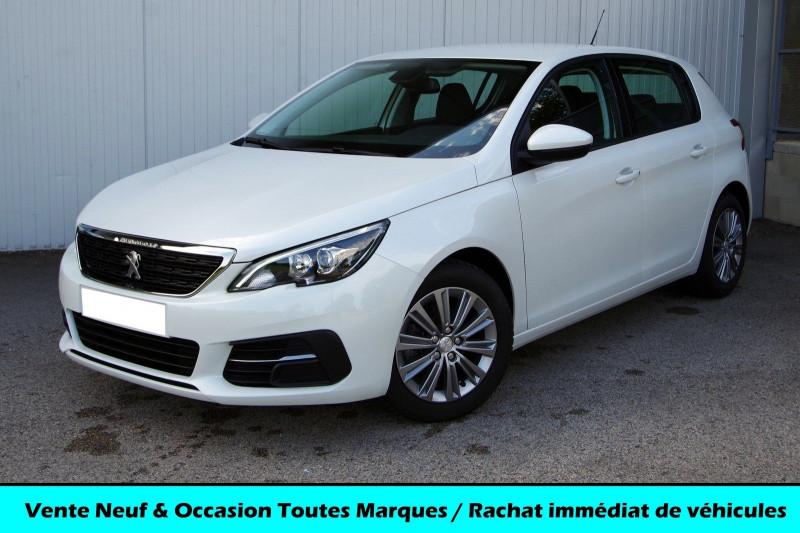Peugeot 308 1.2 PURETECH 130CH S&S ACTIVE Essence BLANC NACRÉ Occasion à vendre