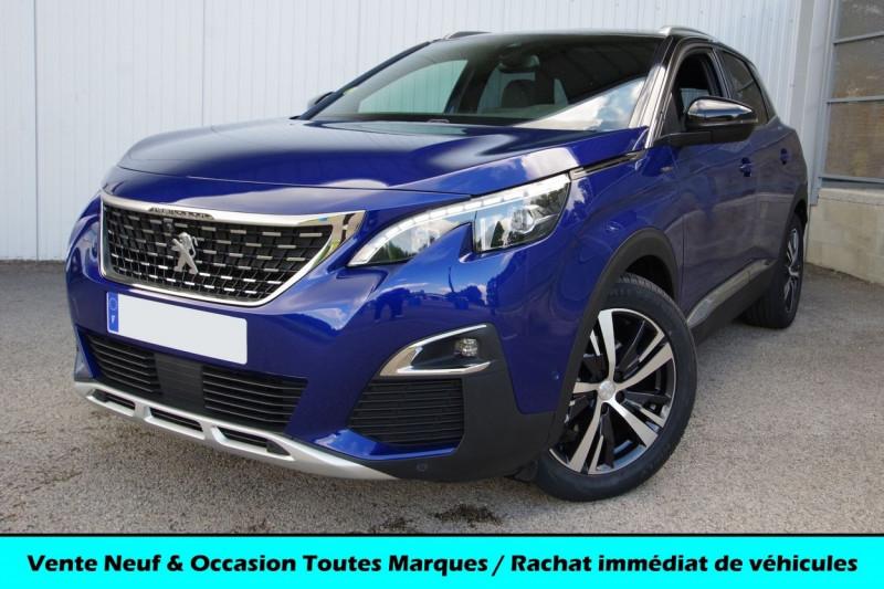Peugeot 3008 2.0 BLUEHDI 150CH GT LINE S&S Diesel BLEU MAGNETIC Occasion à vendre