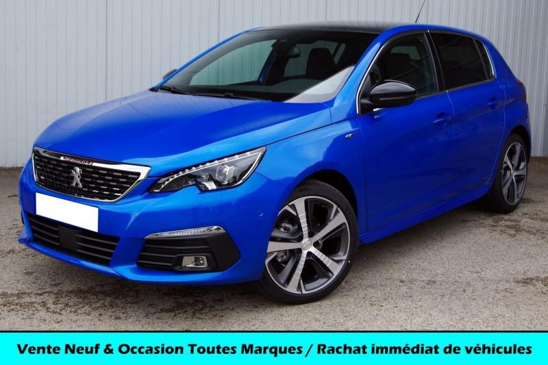 Peugeot 308 1.2 PURETECH 130CH S&S GT PACK EAT8 Essence BLEU VERTIGO Neuf à vendre