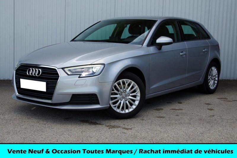 Audi A3 SPORTBACK 1.6 TDI 110CH AMBIENTE Diesel GRIS ALUMINIUM Occasion à vendre