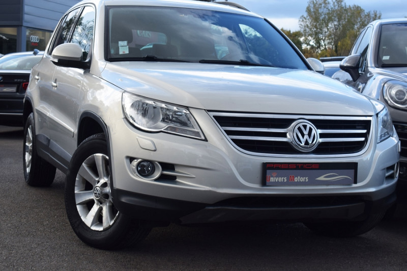 Volkswagen TIGUAN 2.0 TDI 140CH CONFORTLINE 4MOTION Diesel GRIS Occasion à vendre